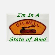 Gilwell State of Mind Rectangle Magnet