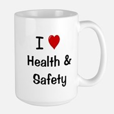 Health and Safety I Love Slogan Mugs