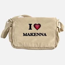 I Love Makenna Messenger Bag