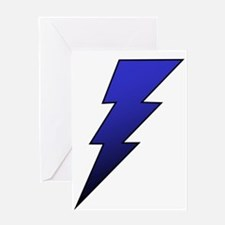 The Lightning Bolt 4 Shop Greeting Card
