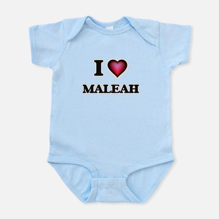 I Love Maleah Body Suit