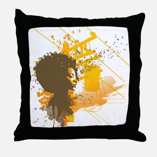 Urban Soul Throw Pillow