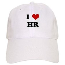 I Love HR Baseball Cap