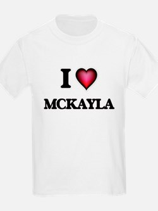 I Love Mckayla T-Shirt