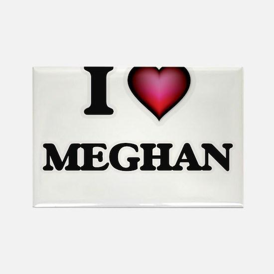 I Love Meghan Magnets