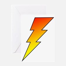 The Lightning Bolt 5 Shop Greeting Card