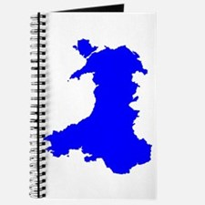 Silhouette Map Of Wales Journal