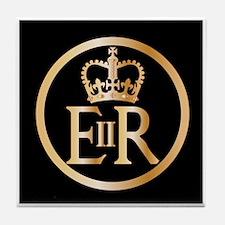 Elizabeth's Reign Emblem Tile Coaster