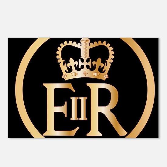 Elizabeth's Reign Emblem Postcards (Package of 8)
