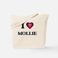 I Love Mollie Tote Bag