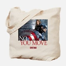 Captain America No You Move Tote Bag
