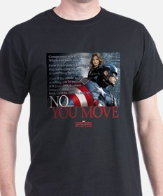 Captain America No You Move T-Shirt