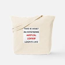 awesome medical coder Tote Bag