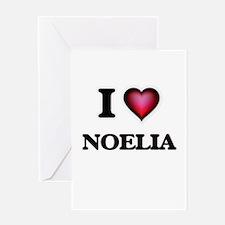 I Love Noelia Greeting Cards
