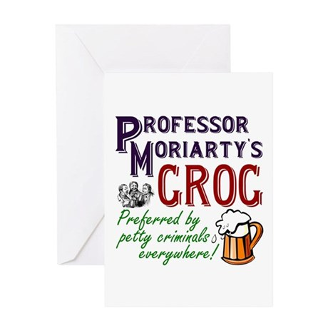 Professor Moriarty's Grog Greeting Card