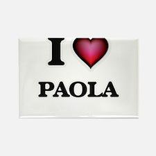 I Love Paola Magnets