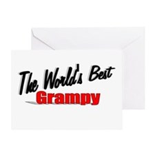 """""""The World's Best Grampy"""" Greeting Card"""