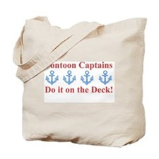 Pontoon Captains Tote Bag