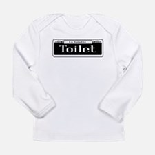 New Orleans Toilet Sign Long Sleeve T-Shirt