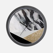 Cool Glitter Wall Clock