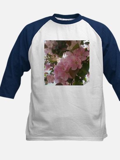 Cherry Blossoms Kids Baseball Jersey
