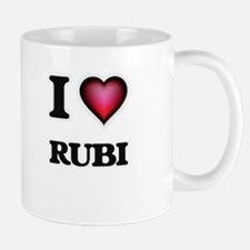 I Love Rubi Mugs