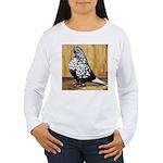 Black Teager Flight Women's Long Sleeve T-Shirt
