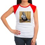 Black Teager Flight Women's Cap Sleeve T-Shirt
