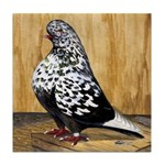 Black Teager Flight Tile Coaster