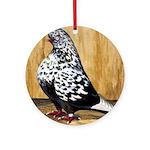 Black Teager Flight Ornament (Round)