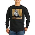 Black Teager Flight Long Sleeve Dark T-Shirt
