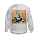 Black Teager Flight Kids Sweatshirt