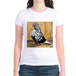 Black Teager Flight Jr. Ringer T-Shirt