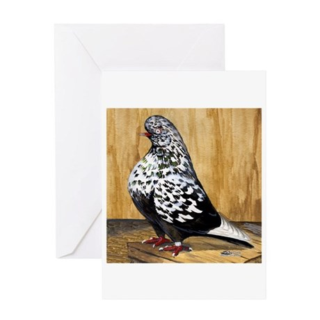 Black Teager Flight Greeting Card
