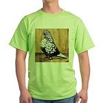 Black Teager Flight Green T-Shirt