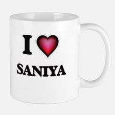 I Love Saniya Mugs