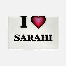 I Love Sarahi Magnets