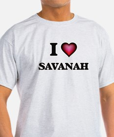 I Love Savanah T-Shirt