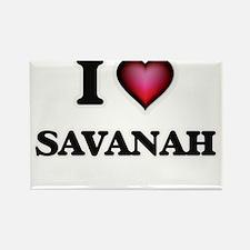 I Love Savanah Magnets