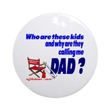 Who are these kids? Ornament (Round)