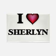 I Love Sherlyn Magnets