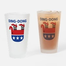 Ding-Dong Drinking Glass