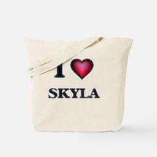 Cute Skyla Tote Bag