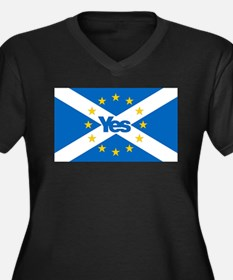 Yes to Independent European Scot Plus Size T-Shirt