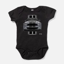 Funny Ford mustang Baby Bodysuit