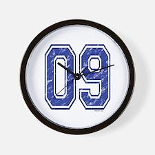 09 Jersey Year Wall Clock