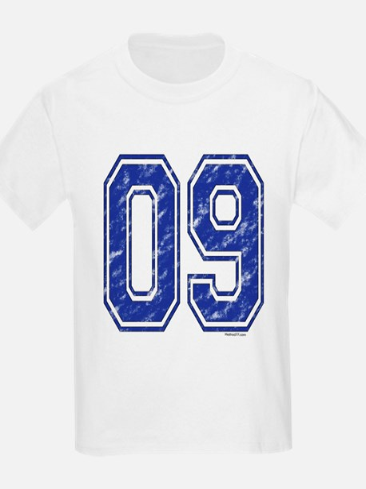 09 Jersey Year T-Shirt