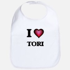 I Love Tori Bib