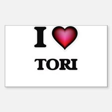 I Love Tori Decal