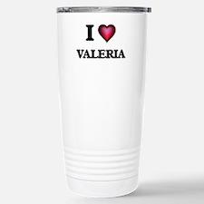 I Love Valeria Travel Mug